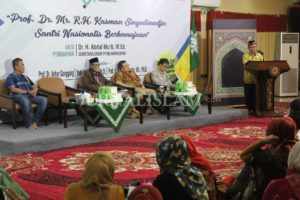 Di Balik Gelar Pahlawan Mr. Kasman Singodimedjo