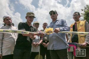 "Bupati Sigi bersama UBN resmikan Huntara ""Berkah Bersama"""