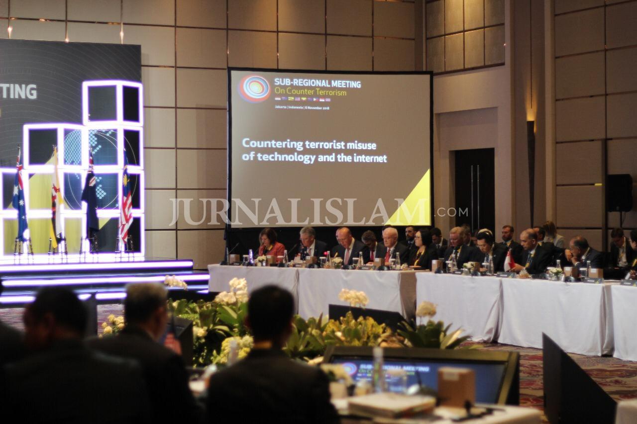 Indonesia dan Australia Gelar Pertemuan Sub-Regional Bahas Terorisme