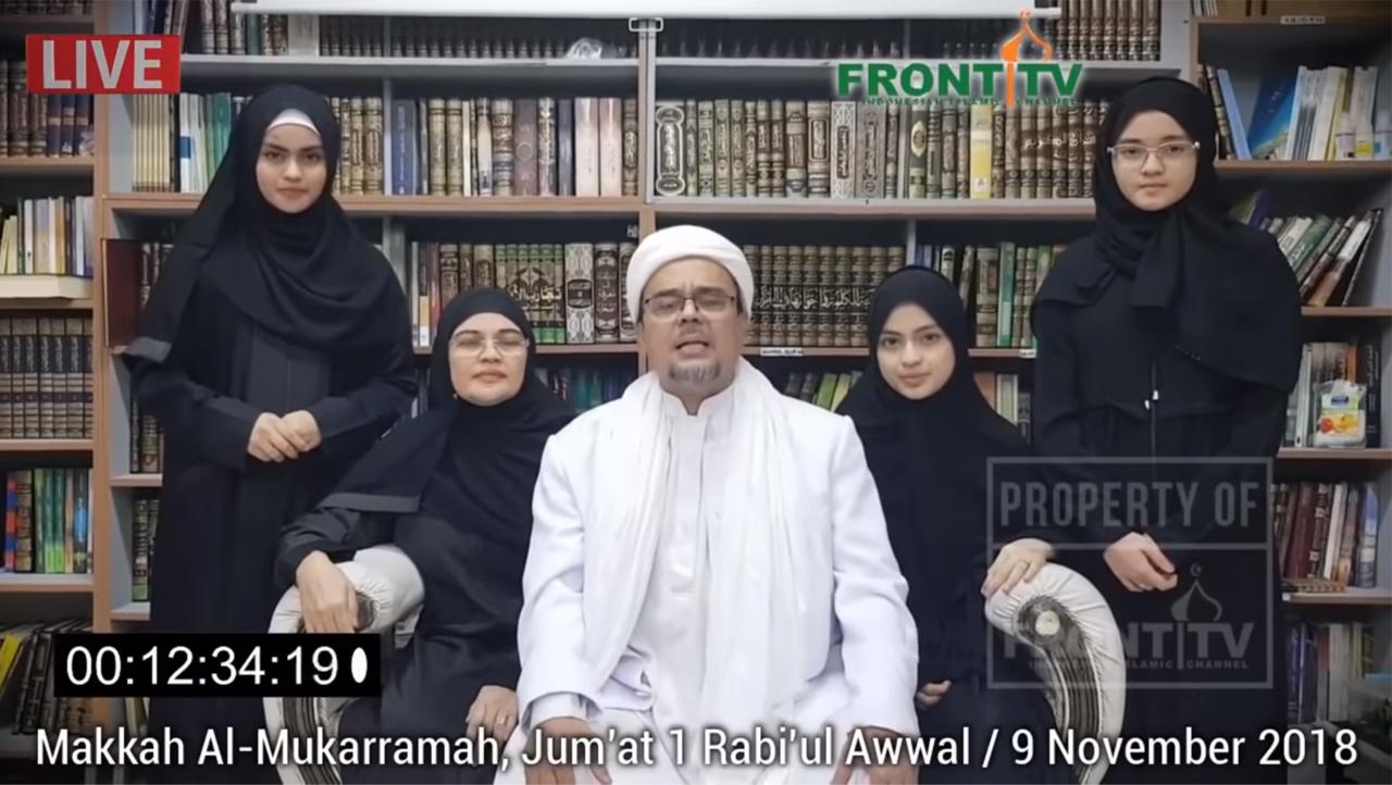 Habib Rizieq Minta Maaf soal Kerumuman: Murni Antusiasme Umat