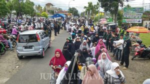 Aksi Bela Muslim Uighur Berlanjut di Tasikmalaya: Semoga Tentara Allah Turun di Cina!