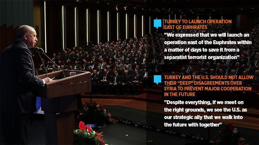 AS Latih Teroris, Erdogan: Kami akan Gelar Operasi Militer di Suriah Segera