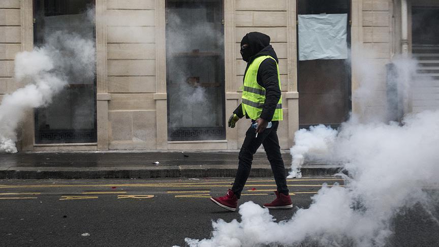 Aksi Protes Yellow vest Menular ke Maroko