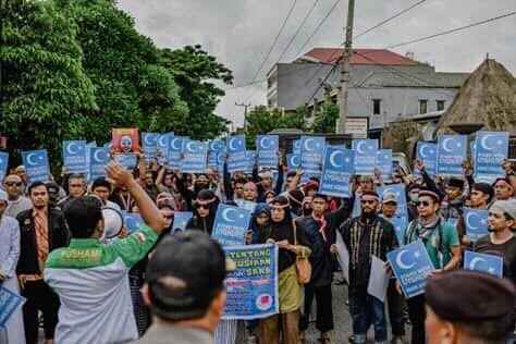 Dari Bali, Aliansi Bela Uighur Desak Presiden Jokowi Bersikap terhadap Cina