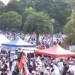 Cerita Posko-posko yang Tak Pernah Bosan Dukung Mujahid-mujahidah Aksi 212