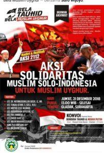Bela Uighur, Warga Solo Akan Gelar Konvoi Bendera Tauhid