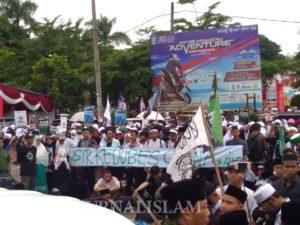 """Aksi Bela Uighur Banten: """"Sakit Mereka Juga Sakit Kita"""""""