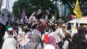 PA 212 dalam Aksi Bela Uighur Jakarta