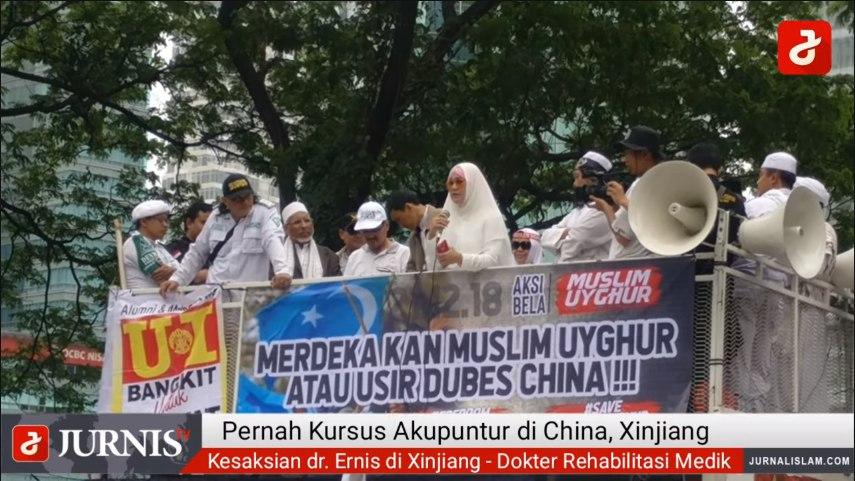 Derita Uighur dan Cerita Dokter Ernis di Xinjiang, Cina