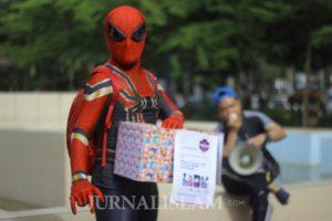 Spider-Man dan Kardus Peduli Bencana