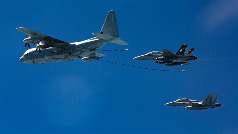 Jet Tempur AS dan Pesawat Hercules Bertabrakan Jatuh di Laut Jepang