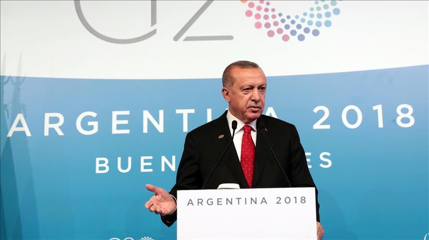 KTT G20 di Buenos Aires, Erdogan: Pembunuhan Khashoggi adalah Masalah Dunia