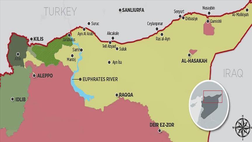 Perbatasan Turki - Suriah