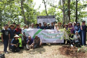 Sinergi Foundation Kembali Tanam Ratusan Bibit Bambu di Garut