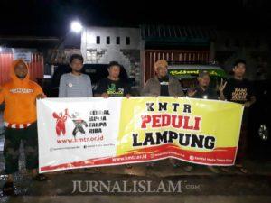 Komunitas Masyarakat Anti Riba dan Salimah Peduli Umat Kirim Bantuan Tsunami Lampung