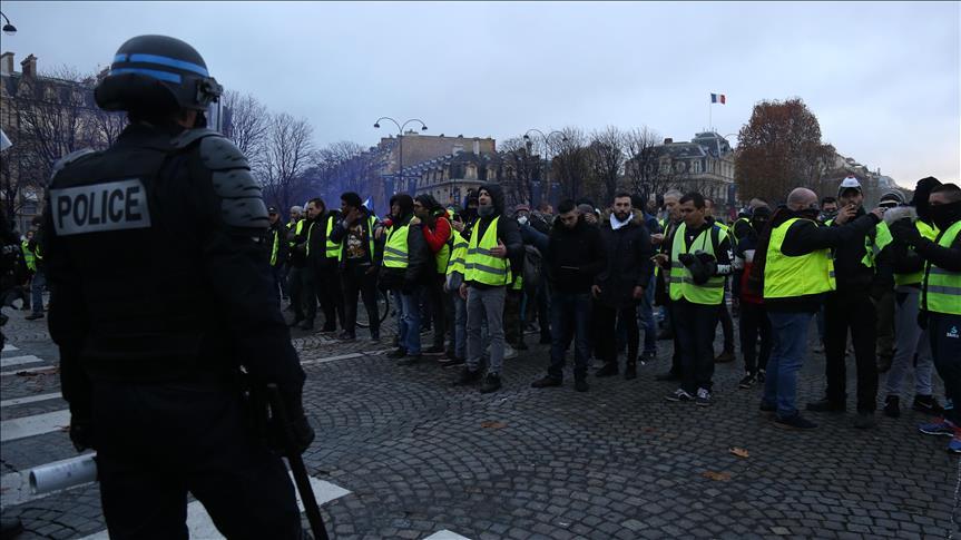 Yellow Vest Bersumpah akan Lanjutkan Demonstrasi Besar Hari Sabtu