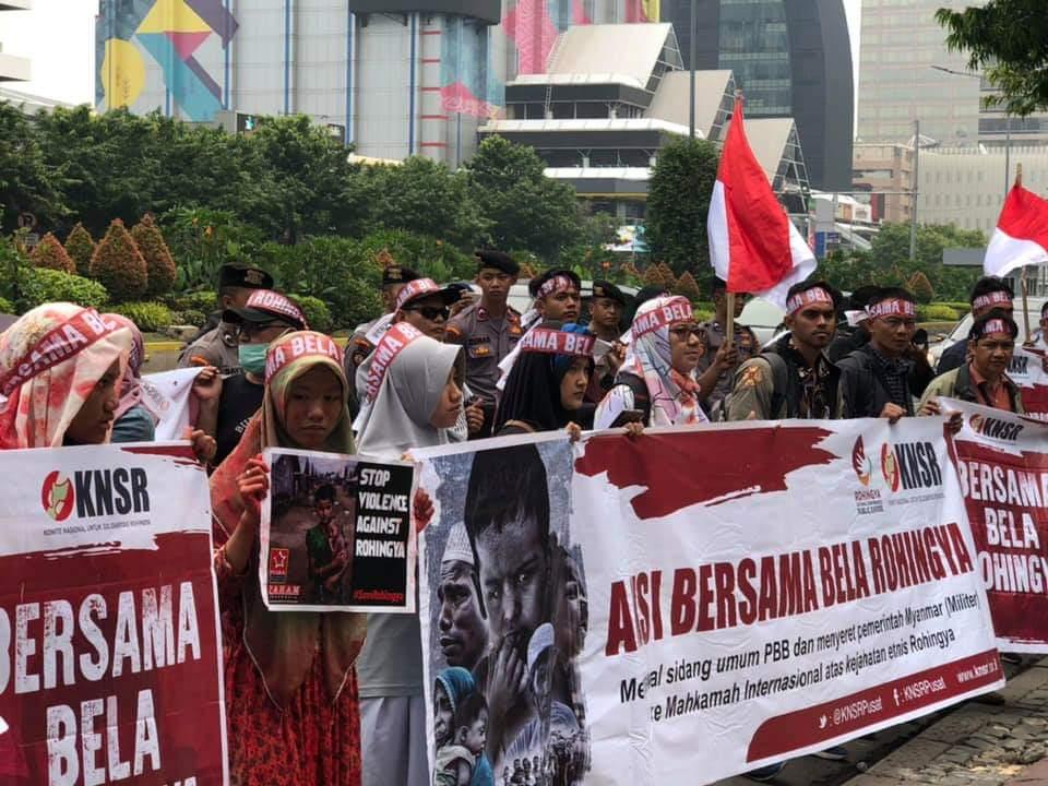 KNSR Kembali Menuntut Keadilan Bagi Rohingya