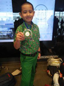 Di Olimpiade Matematika ASEAN, Siswa SD Muhammadiyah PK Raih Medali Emas