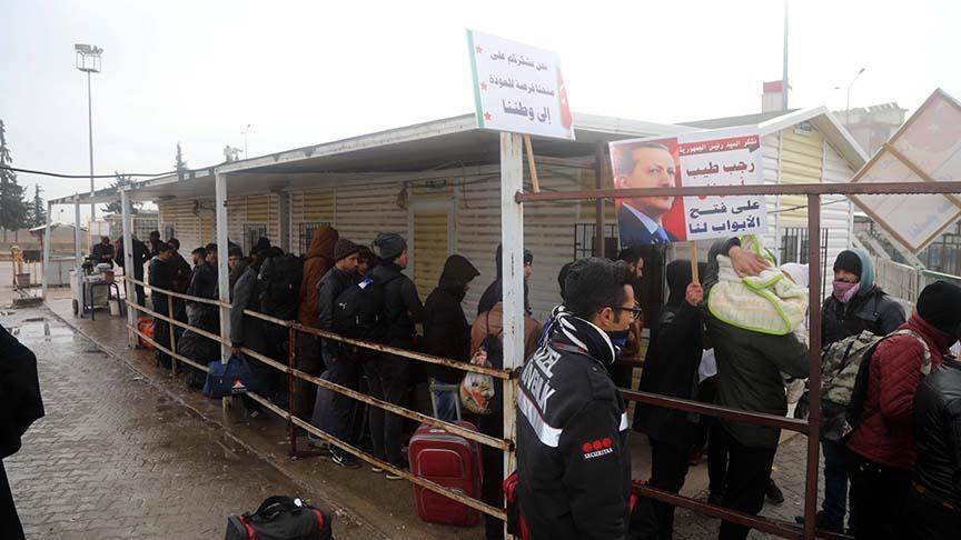 Lebih dari 40.000 Warga Suriah di Turki Kembali ke Kampung Halamannya