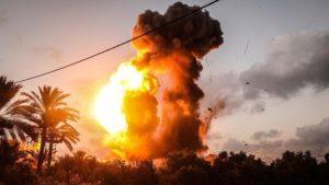 Serangan Udara Israel Targetkan Warga Pendemo di Gaza