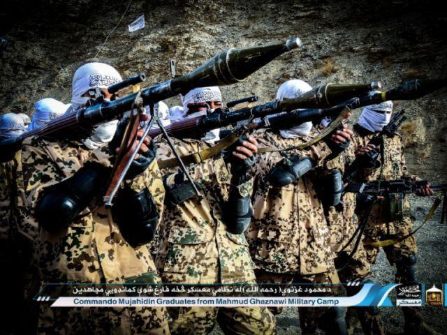 Taliban Rilis Foto Pelatihan Komando Mujahidin