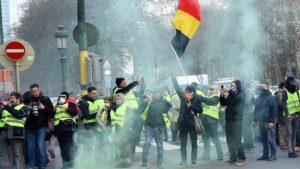 Unjuk Rasa Yellow Vest Menyebar ke Negara-negara Eropa Kini Giliran Belgia