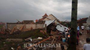 Puting Beliung Rancaekek, 16 Orang Luka, Ratusan Rumah Rusak