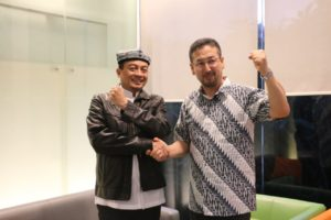 UBN Lepas Rombongan Uighur Kunjungi Korban Tsunami Banten