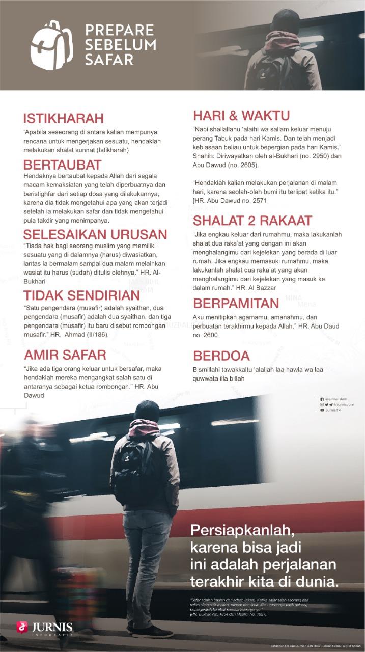 Prepare Sebelum Safar