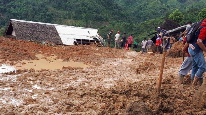 Evakusi Korban Longsor Sukabumi Dilanjutkan, 15 Jenazah Ditemukan