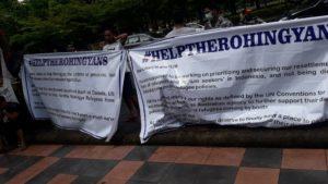 Pengungsi Rohingya di Makassar Kembali Berunjuk Rasa Minta Kejelasan
