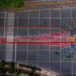LUIS Layangkan Protes 'Mozaik Salib' di Koridor Jensud