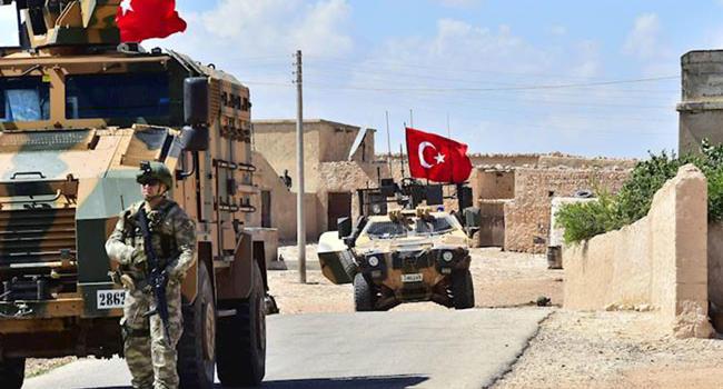 Erdogan: Turki akan Bersihkan Sisa-sisa Kelompok IS dari Suriah