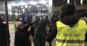 Muslim Amerika Bagikan Bantuan untuk Korban Suhu Ekstrem di Chicago