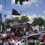 Ketua PA 212 Diperiksa, Umat Islam Gelar Aksi Depan Mapolresta Surakarta