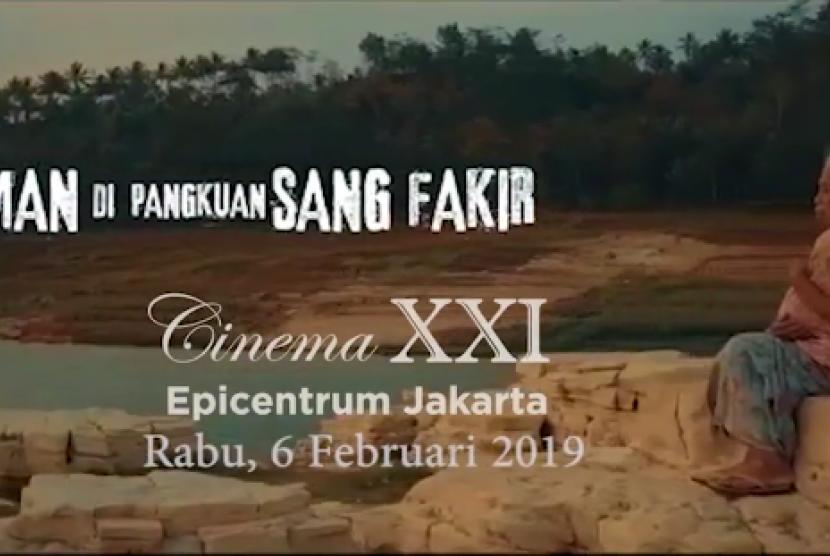 Film Edukasi Zakat 'Iman di Pangkuan Sang Fakir' Dirilis Pekan Ini