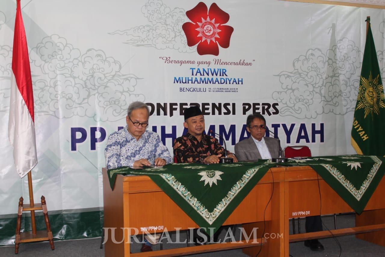 Tanwir Muhammadiyah Digelar 14-17 Februari di Bengkulu