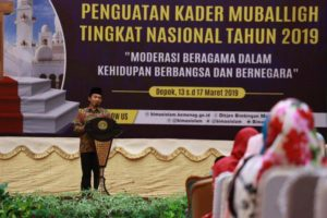 Usung Tema Moderasi Agama, Kemenag Gelar Pelatihan Dai Nasional