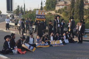 Demo Tolak Wajib Militer, 23 Yahudi Relijius Ditangkap Polisi Israel