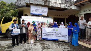 Laznas Dewan Dakwah Jateng Kirim Bantuan Air Bersih untuk Korban Gempa Lombok