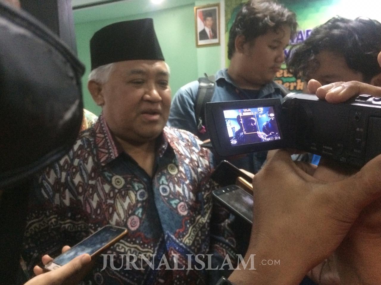Din Syamsuddin dan 56 Tokoh Nasional Desak Investigasi Wafatnya Ratusan Petugas Pemilu