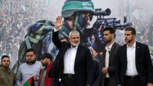 Ismail Haniyah Muncul ke Publik Pasca Israel Menghancurkan Kantornya