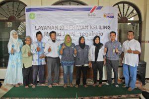IZI dan LAZ Nurul Barqi Gelar Pengobatan Gratis