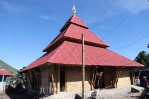 Bersama Masyarakat, Sinergi Foundation Wujudkan Masjid Ramah Gempa di Lombok