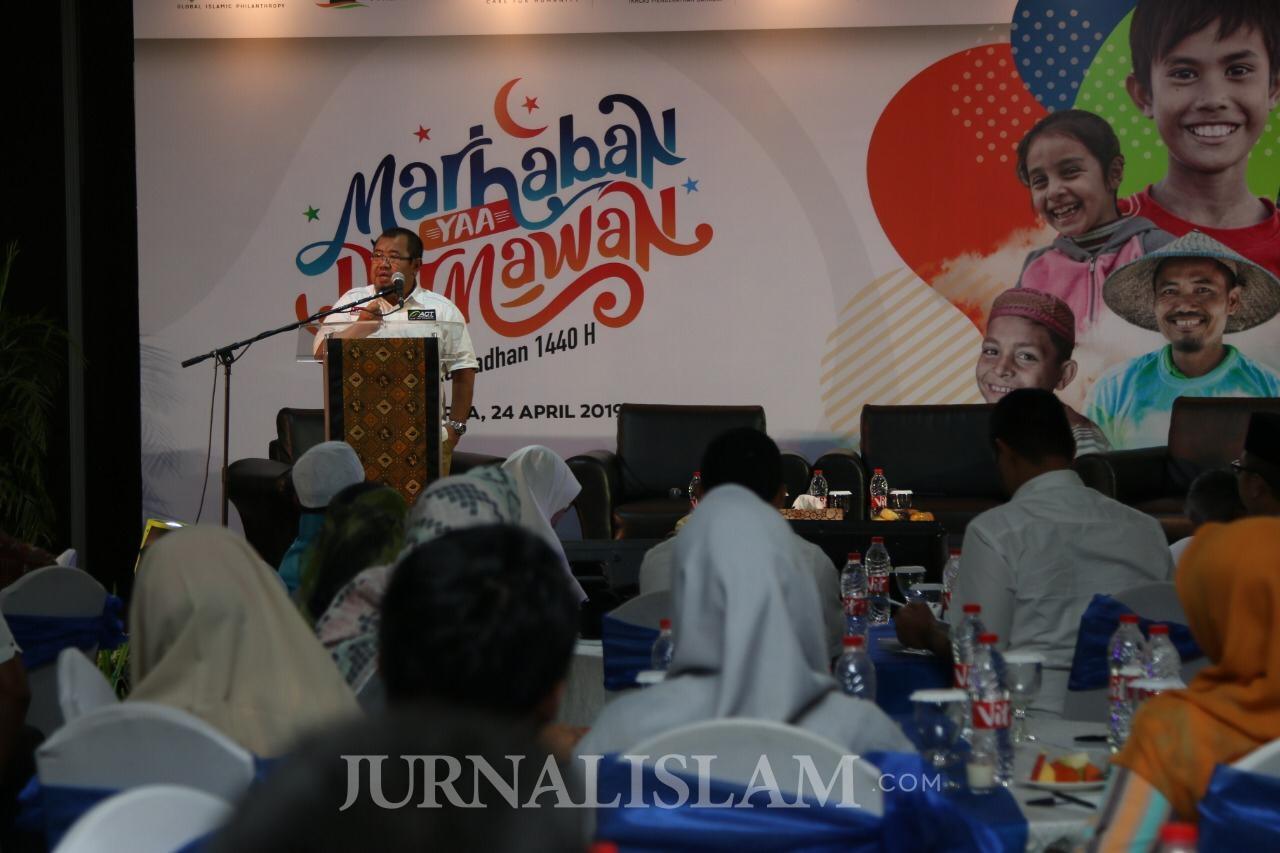 Sambut Ramadhan, ACT Luncurkan Program 'Marhaban Yaa Dermawan'