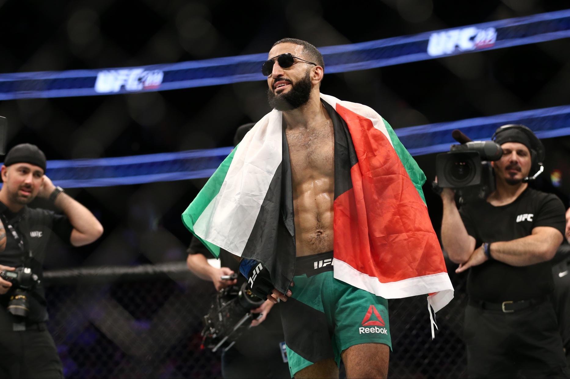 Petarung Palestina, Belal Muhammad Menang di UFC 236