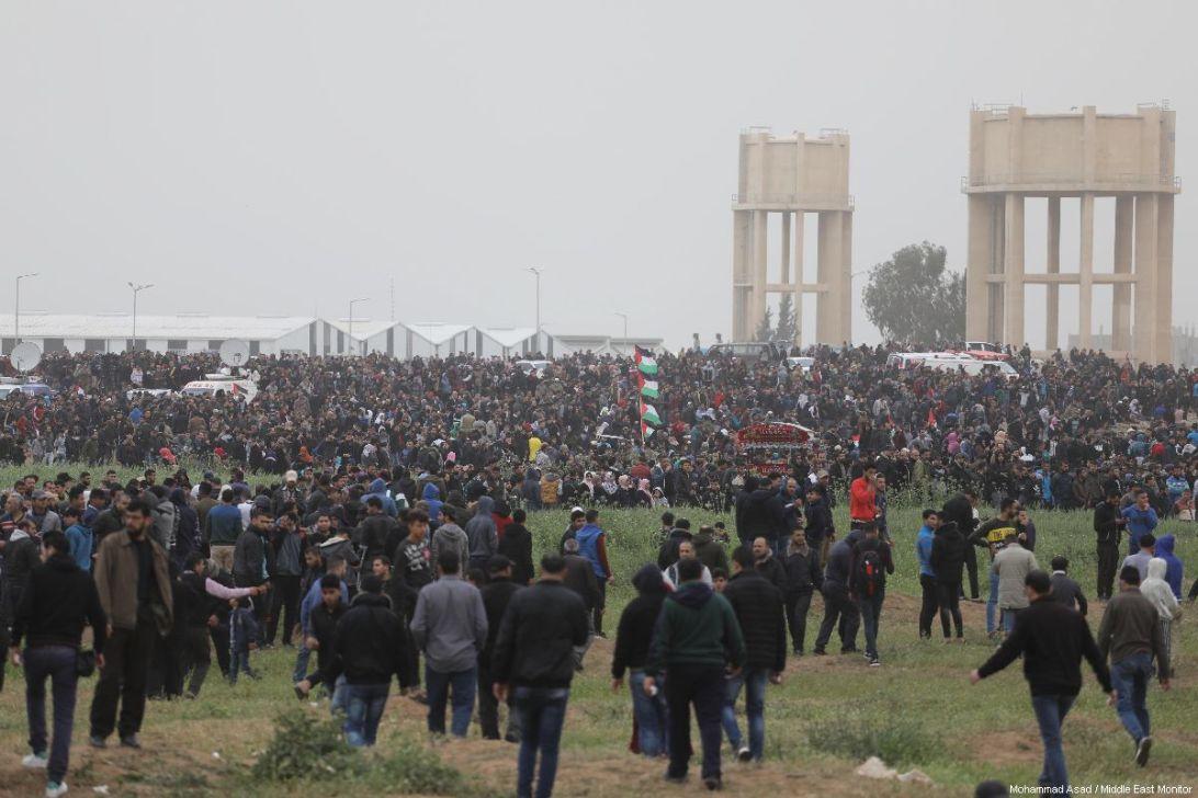 Israel Gunakan Senjata Baru Pemecah Kerumunan Melawan Demonstran Palestina
