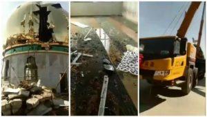 Dinilai 'Kearab-araban', Pemerintah Komunis Cina Hancurkan Masjid di Gansu