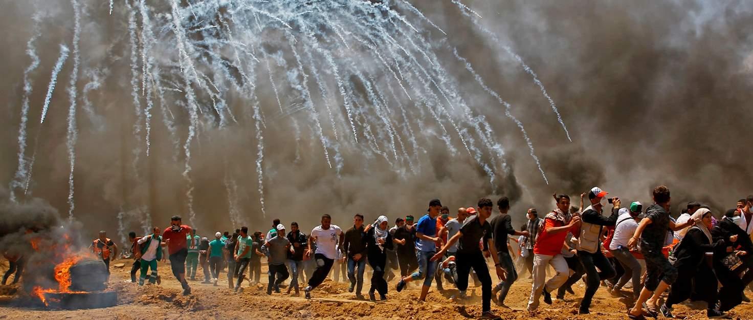 4 Warga Palestina Gugur dalam Peringatan Setahun The Great Return
