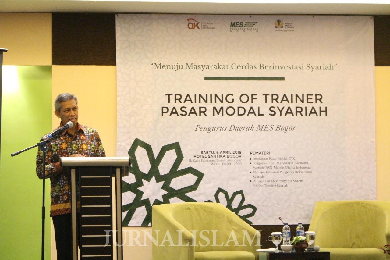 Bersama OJK RI, MES Gelar Pelatihan Pasar Modal Syariah